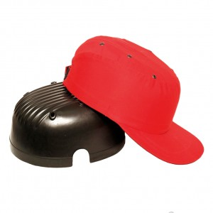 Каскетка защитная красная