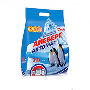 Порошок стиральный АЙСБЕРГ АВТОМАТ, 3 кг